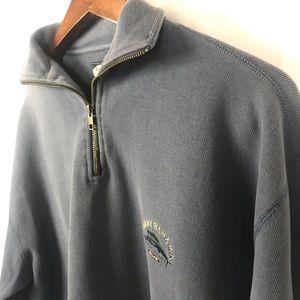 Tommy Bahama Mens Quarter-ZIP Sweater Size Medium
